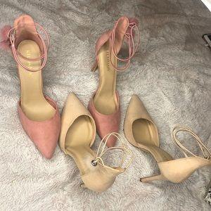 2 pair bundle : Liliana Heels